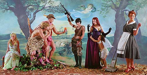 "Eleanor Antin's ""Judgment of Paris (After Rubens) - Light Helen"""