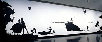 "Kara Walker, ""Installation View."" 2007. Courtesy Smithsoniam American Art Museum."