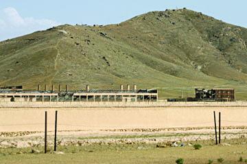 Trevor Paglen, The Salt Pit (Shomali Plains northeast of Kabul, Afganistan), Chromogenic print, 2006.