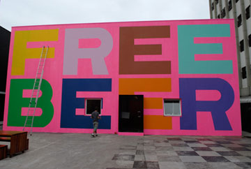 "Superflex, ""Free Beer"" (2005), courtesy superflex.net"