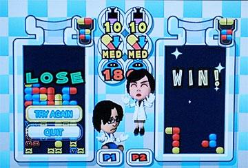 Losing at Dr. Mario