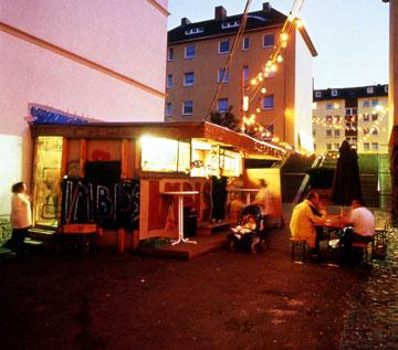 Documenta 11, Kassel, 2002. Photo courtesy of Werner Maschmann