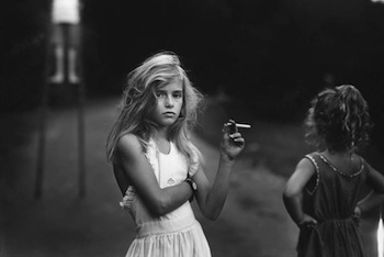 "Sally Mann, ""Candy Cigarette"" from the series ""Immediate Family"", 1989. © Sally Mann. Courtesy: Gagosian Gallery."