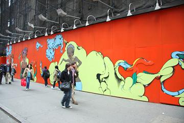 Mural by Sofia Maldonado. Photo by Alex Mateo.