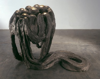 "Louise Bourgeois  AVENZA REVISITED II, 1968-1969  Bronze, silver nitrate patina  51 1/2 x 41 x 75 1/2""; 130.8 x 104.1 x 191.7 cm. Courtesy Cheim & Read and Hauser & Wirth."