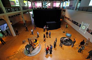 IMAGINING MEDIA@ZKM im ZKM | Medienmuseum, 2009, installation view,  © ZKM, Foto: ONUK.