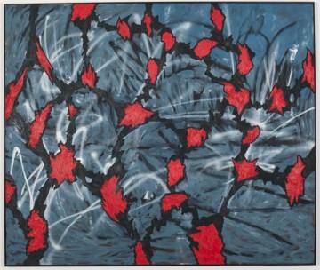 "Jan-Henri Booyens, ""Bloed Straat,"" oil on canvas, 170 x 200 cm, 2010"