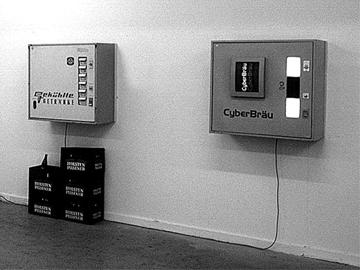 Fank Fietzek,  Von den Nützlichen Dingen, 1993, Interaktive Installation, © Fank Fietzek.