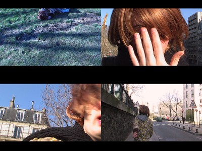 "Stills from ""Now there is a hole where once stood our house,"" biriken. 2006."