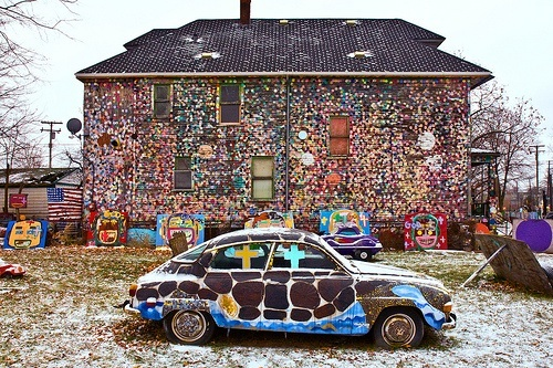 Image of the Heidelberg Project (c) Google Images