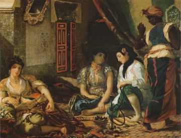 "Delacroix's ""The Women of Algiers,"" 1834. Can you spot the watch?"
