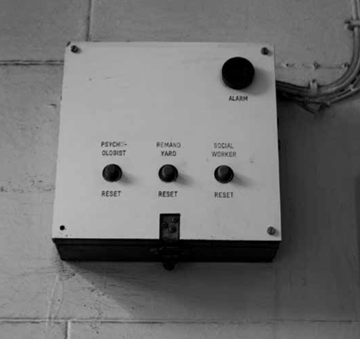 Lily Hibberd, Photograph of Adelaide Gaol alarm system