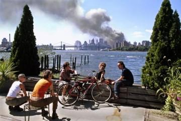 September 11th image by Thomas Hoepker. Photograph: Thomas Hoepker/Magnum