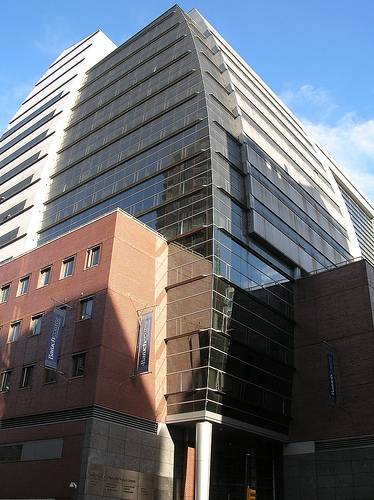 The William and Anita Newman Vertical Campus at Baruch College, New York.
