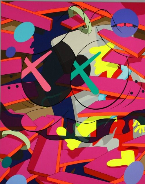 KAWS. Down Time (2011). Image courtesy High Museum of Art.