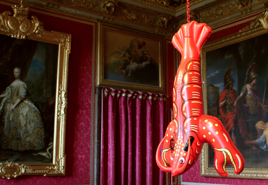 Jeff Koons. Lobster (2003). Image courtesy Fubiz.