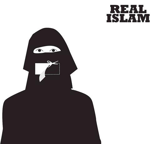 """""""Real Islam,"""" Khalid Albaih, 2010"""