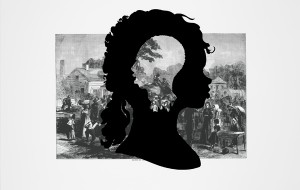 Kara Walker. Exodus of Confederates from Atlanta. Courtesy of Kara Walker and the Museum of Modern Art, New York City.