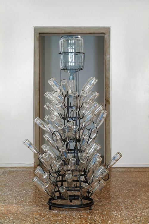 "Lucy + Jorge Orta, ""OrtaWater--Bottle rack,"" 2005."