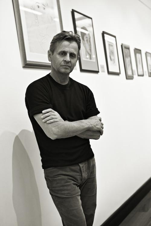 Mikhail Baryshnikov at ABA gallery, 2012. Photograph by Graham Lott