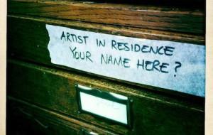 """Artist in Residence"" Instagram image by Jeremy Riad / http://www.jeremyriad.com/"