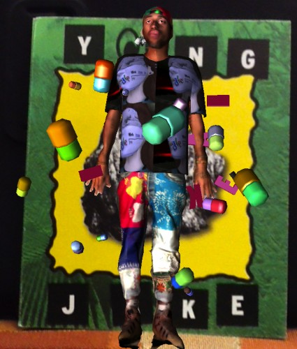 Yung Jake. Augmented Real (performance).