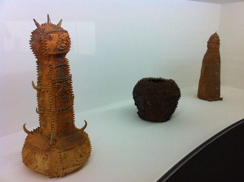 Shinichi Sawada's terracotta dragons, demons and totemic figures, 2006-7. Photo by Natalie Musteata.