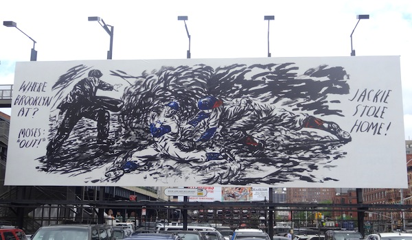 """Raymond Pettibon. """"No Title (Safe he called…),"""" 2010. Courtesy the artist, the High Line and David Zwirner, New York/London."""