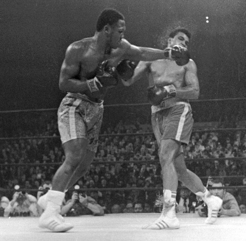 Muhammad Ali Joe Frazier