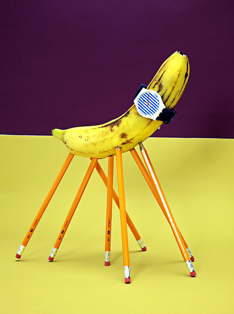 "ADIL. ""The Banana Stand,"" 2013. Courtesy of the JOGGING Tumblr. © ADIL"