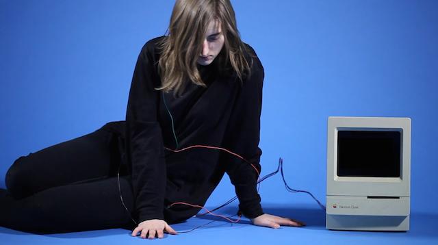 "Gabriella Hileman, ""hologram machine for the modern cyber femme"" (2013)"