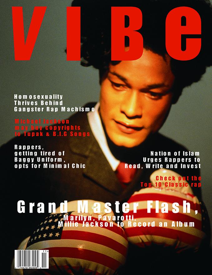"Iké Udé. ""VIBE,"" Cover Girl series, 1994. Courtesy of the artist,"