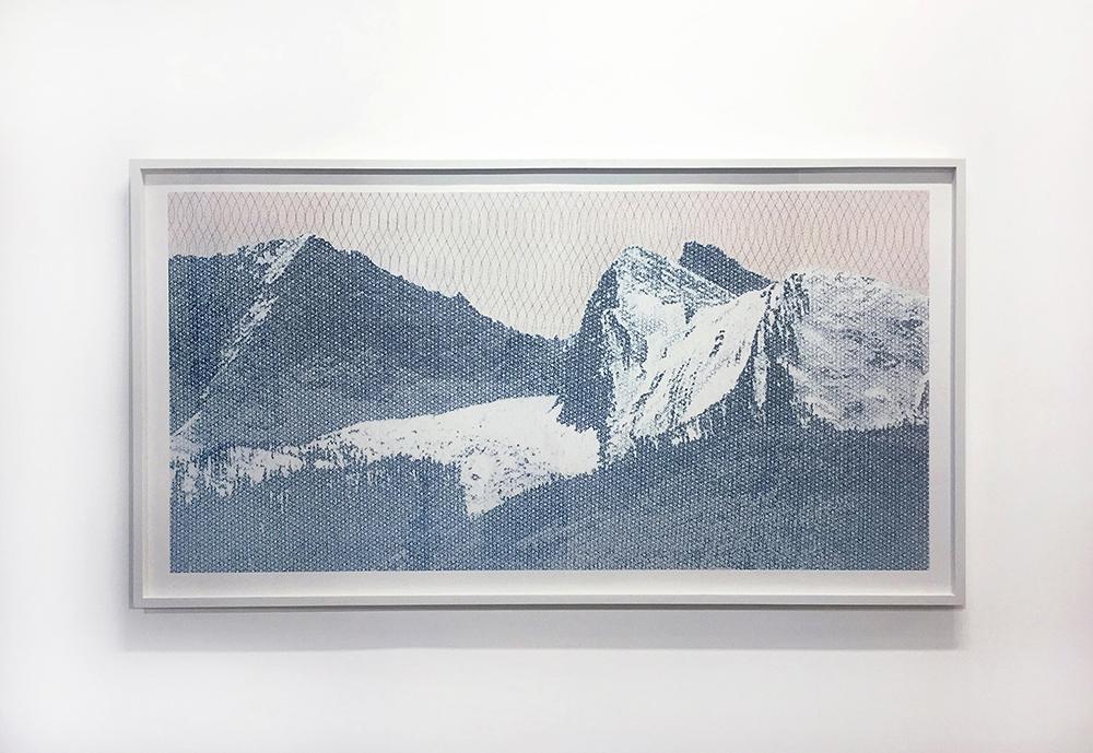 Jesse Chun. Landscape #10, 2014, Archival Pigment Print, 35 x 65 inches. Courtesy Jesse Chun and Spencer Brownstone Gallery, New York. © Jesse Chun.