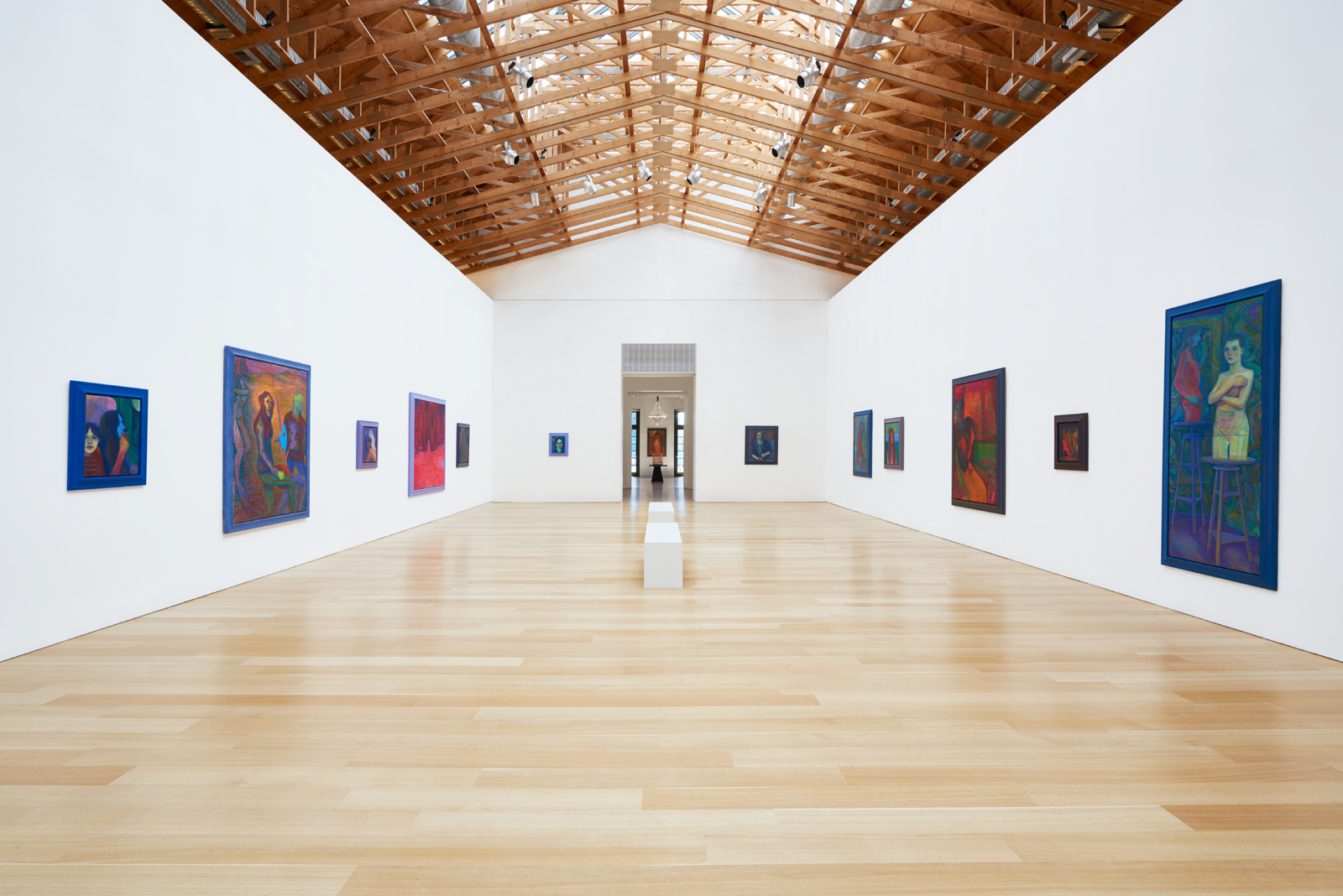Installation view, Steven Shearer at The Brant Foundation. © Steven Shearer. Courtesy of the artist, Galerie Eva Presenhuber, Zurich, and Gavin Brown's enterprise, New York.