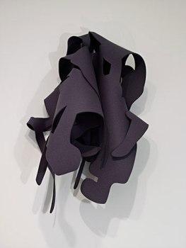 "Arturo Herrera, ""Felt #1 / Warm Gray"", 2008. Wool felt. Courtesy of Sikkema Jenkins & Co."