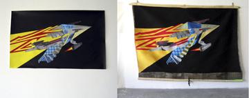 Space Kraft, 2009, W 220 x H 180 cm