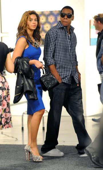 Beyonce and Jay-Z at Art Basel Miami