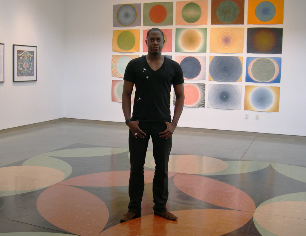Sanford Biggers and the contemporary Mandala (2012). Emory Visual Arts Gallery. Photo by the author.
