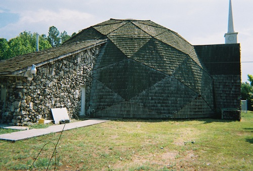 Geodesic Church Hot Springs