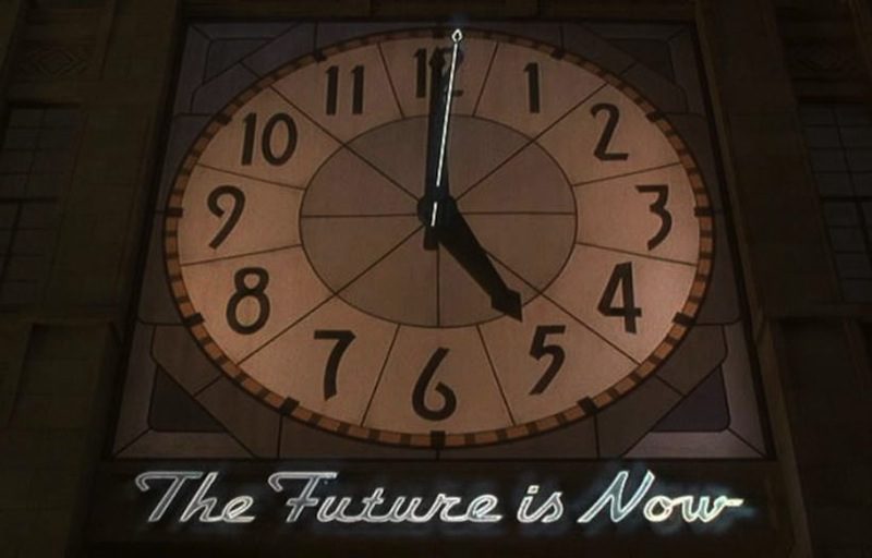 Christian Marclay, The Clock (video still), 2010. Single-channel video with sound, 24 hours. Courtesy Paula Cooper Gallery, New York.