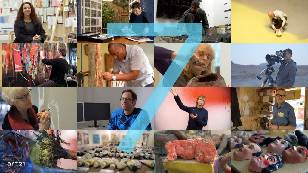 "Announcing Season 7 of ART21 ""Art in the Twenty-First Century."""