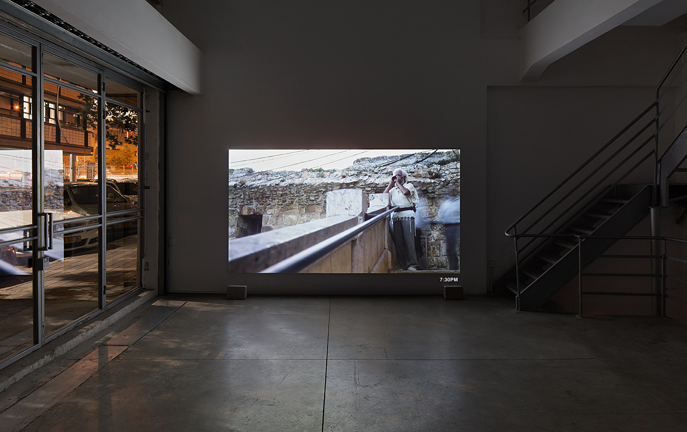 Nira Pereg, ISHMAEL, 2014-2015, (Still from Video). Four Channel HD Video Installation with Sound 10:44 min. Courtesy of Braverman Gallery and the artist.
